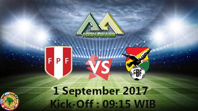 Prediksi Peru Vs Bolivia 1 September 2017
