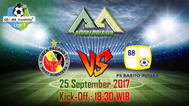 Prediksi Semen Padang Vs Barito Putera 25 September 2017