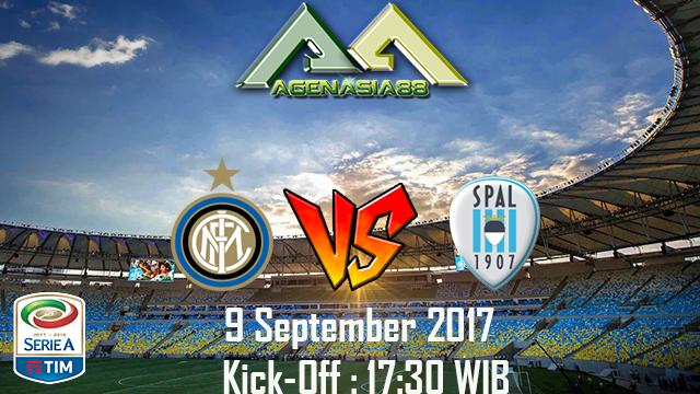 Prediksi Internazionale Vs SPAL 10 September 2017