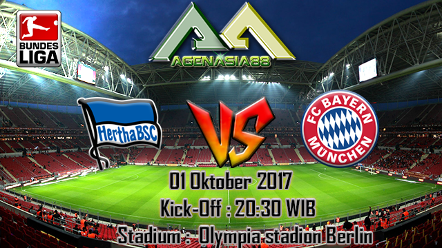 Prediksi Hertha BSC Vs Bayern Munchen 01 Oktober 2017