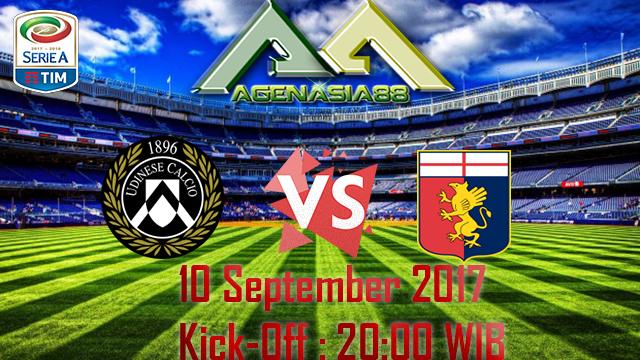 Prediksi Udinese Vs Genoa 11 September 2017
