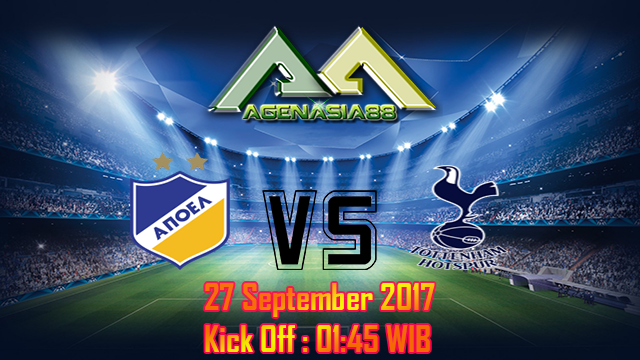 Prediksi APOEL Vs Tottenham Hotspur 27 September 2017