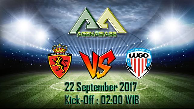 Prediksi Real Zaragoza Vs Lugo 22 September 2017