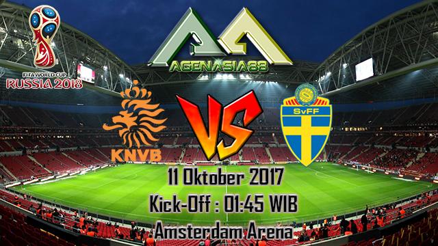 Prediksi Netherlands Vs Sweden 11 Oktober 2017