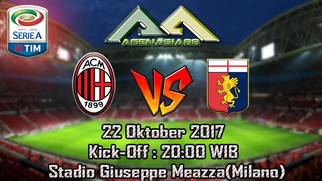 Prediksi Milan Vs Genoa 22 Okotber 2017