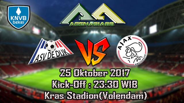 Prediksi De Dijk Vs Ajax 25 Oktober 2017
