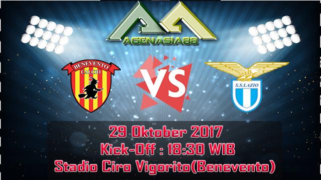 Prediksi Benevento Vs Lazio 29 Oktober 2017