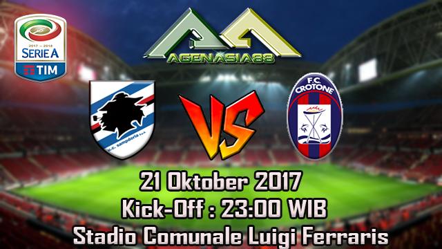 Prediksi Sampdoria Vs Crotone 21 Oktober 2017