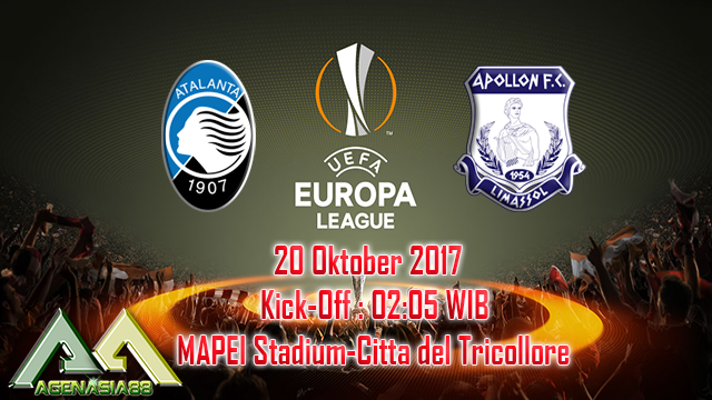 Prediksi Atalanta Vs Apollon 20 Oktober 2017