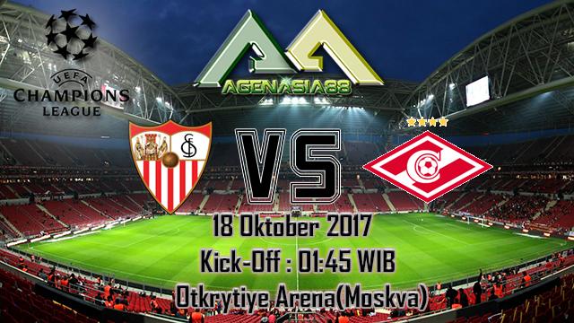 Prediksi Spartak Moskva Vs Sevilla 18 Oktober 2017