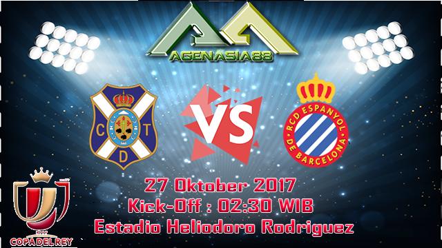 Prediksi Tenerife Vs Espanyol 27 Oktober 2017