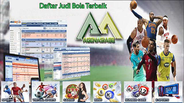 Daftar Judi Bola Terbaik | AgenAsia88