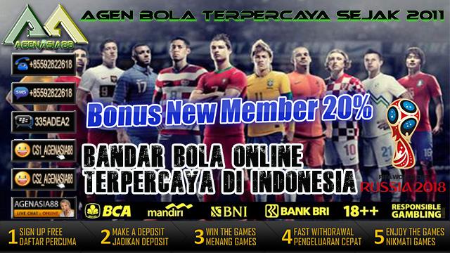 Bandar Bola Online Terpercaya di Indonesia Piala Dunia 2018